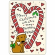 "Crunch Card ""Merry Christmas - Faithful Friend"""