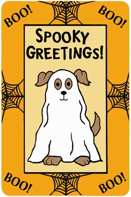 """Crunch Card """"Spooky Greetings"""" for DOGS"""