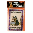 "Crunch Card ""Witch - Cook Up Some Fun"" for DOGS"