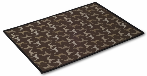 "Crypton Mess Mat - Hot Chocolate (24"" x 18"")"
