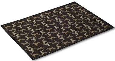 "Crypton Mess Mat - Midnight Black (24"" x 18"")"