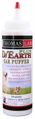 D/Earth Plus Ear Care Puffer (120 grams)