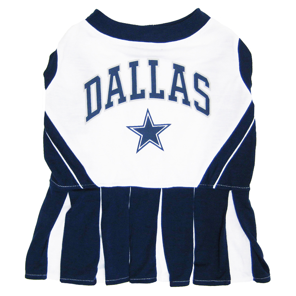 Dallas Cowboys Cheerleader Dog Dresses