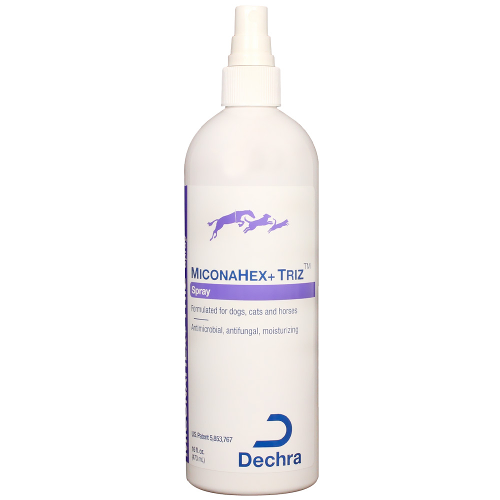 Dechra MiconaHex+ Triz Spray (16 oz)