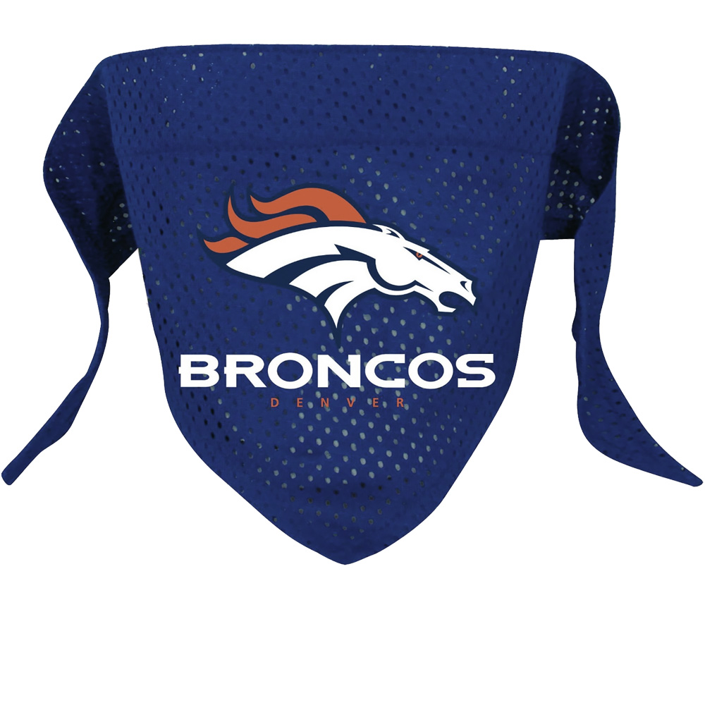 Denver Broncos Dog Bandanas