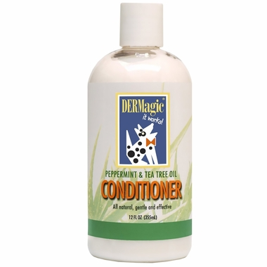 DERMagic Peppermint & Tea Tree Oil Conditioner (12 oz)