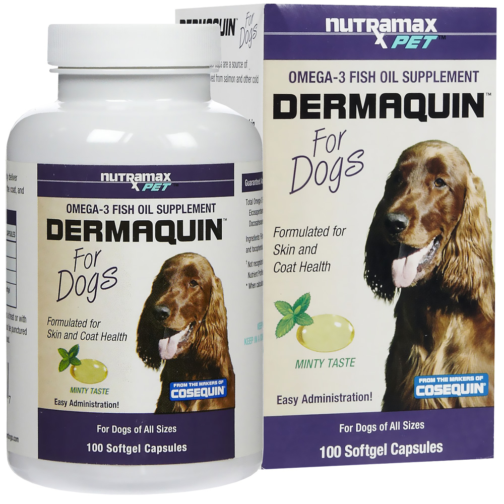 Dermaquin for Dogs (100 Softgel Caps)