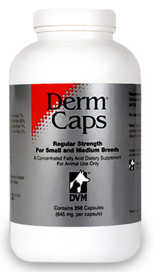 DermCaps REGULAR (250 capsules) by DVM Pharmaceuticals