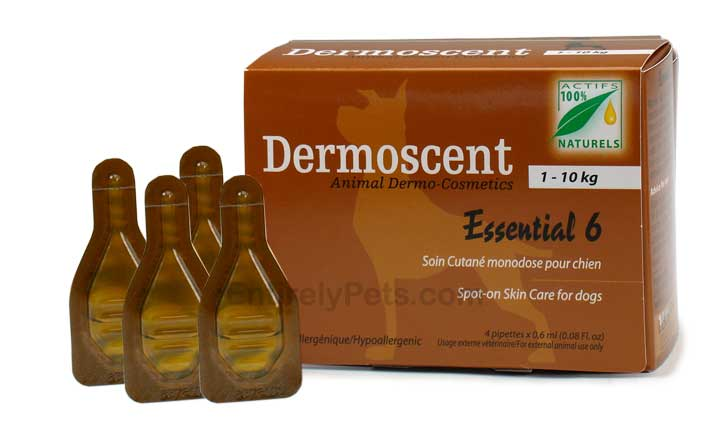 Dermoscent Spot-On Skin Care for Small Dogs  (1-10 kg)