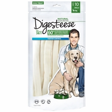 "Digest-eeze Thin Rawhide Rolls 8"" (10 pack)"