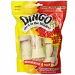 Dingo Bone Medium White 4-PACK Value Bag (10 oz)