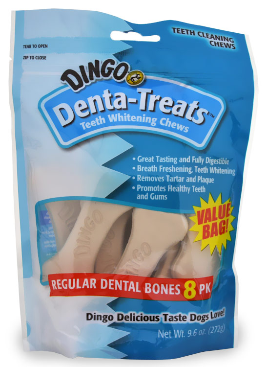 Dingo Denta-Treats Regular 8-pack (9.6 oz)