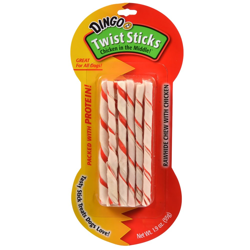 Dingo Twist Sticks (1.9 oz) - 10 pack