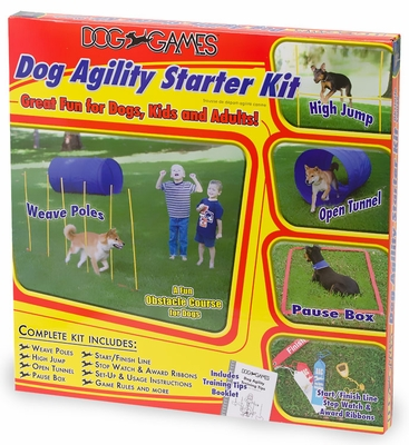 Dog Agility Starter Kit Obstacle Course