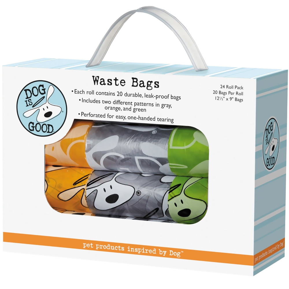 Dog is Good Icon Waste Bags