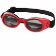 Doggles ILS Shiny Red Frame / Smoke Lens