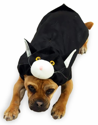 Doggone Cat Dog Costume - XSMALL