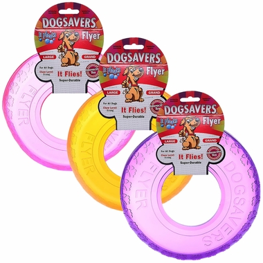 Dogsavers Flyer Large 9� (Assorted)