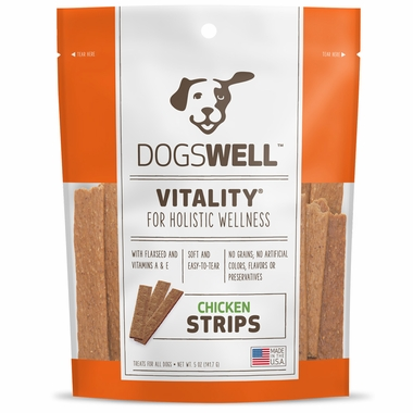 Dogswell™ Vitality® Strips - Chicken (5 oz)