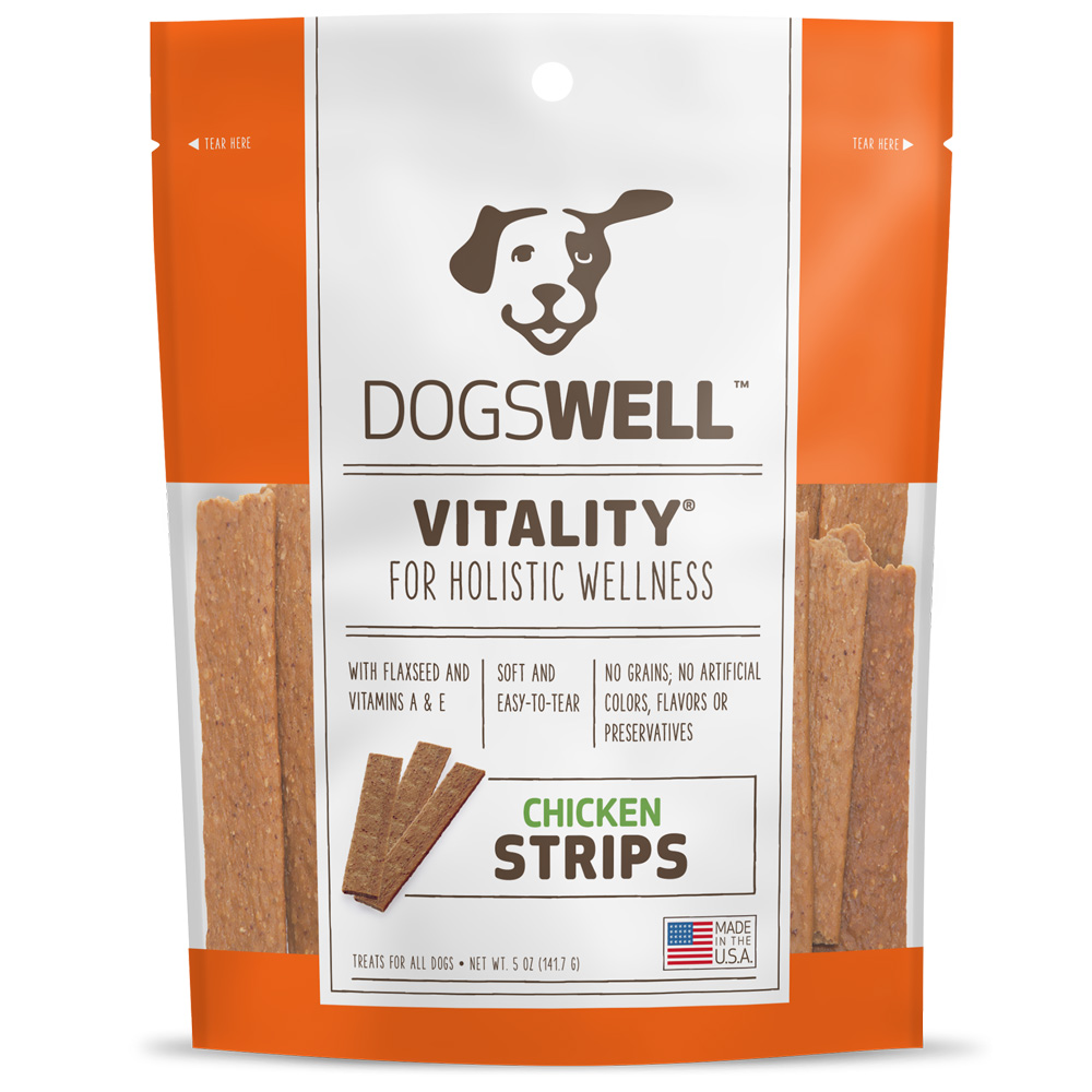 Dogswell Vitality Strips - Chicken (5 oz)