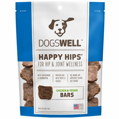 Dogswell™ Happy Hips® Jerky Bars - Chicken & Veggies (32 oz)