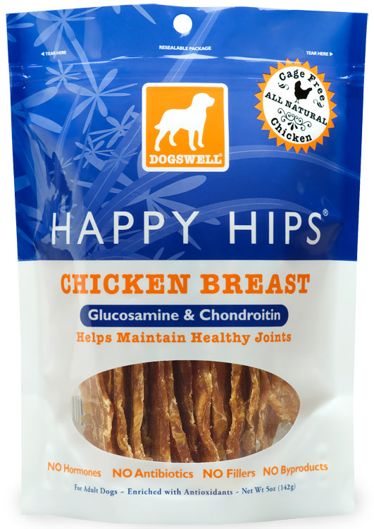 Dogswell Happy Hips Chicken Breast Treats (5 oz)