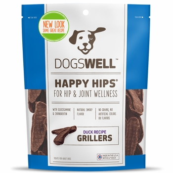 Dogswell™ Happy Hips® Grillers - Duck Recipe (4.5 oz)
