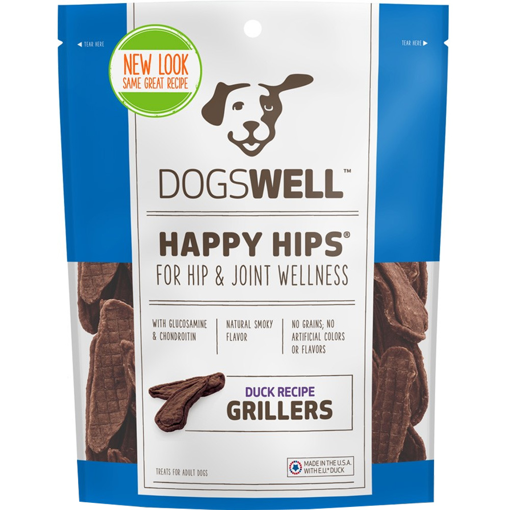 Dogswell Happy Hips Grillers - Duck Recipe (4.5 oz)