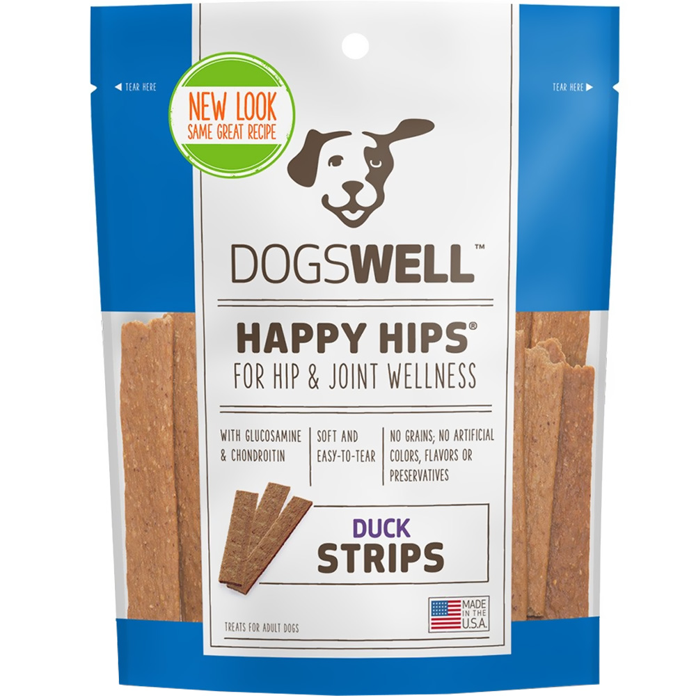 Dogswell Happy Hips Strips - Duck (12 oz)