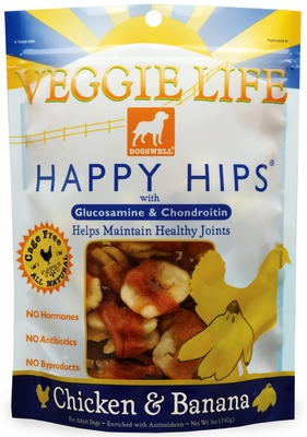 Dogswell Veggie Life Happy Hips Banana & Chicken (5 oz)