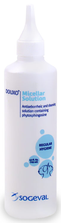 Douxo Micellar Ear Solution - FOR CATS & DOGS (4.2 fl oz)