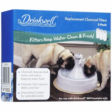 Drinkwell 360 Replacement Filters 3-PACK