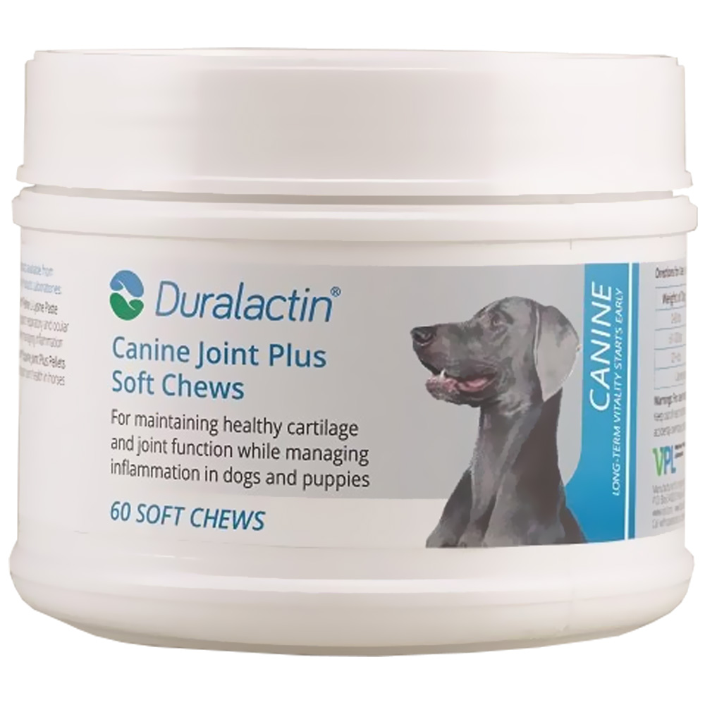 Duralactin Canine Joint Plus Soft Chews (60 count)