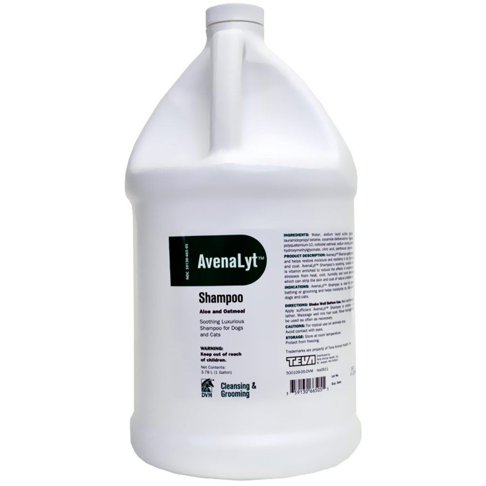 DVM Avenalyt Aloe and Oatmeal Shampoo (1 Gallon)