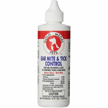 Ear Mite & Tick Control (4 oz) by Cardinal Labs