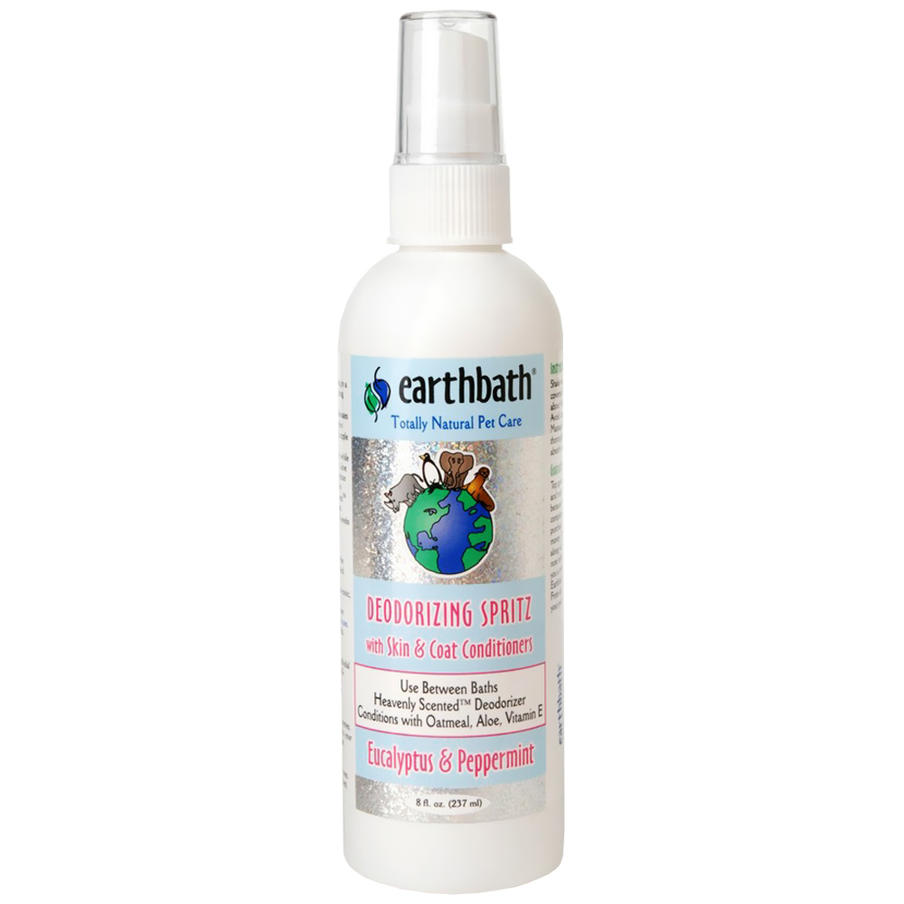 Earthbath Deodorizing Spritz - Eucalyptus & Peppermint (8 oz)