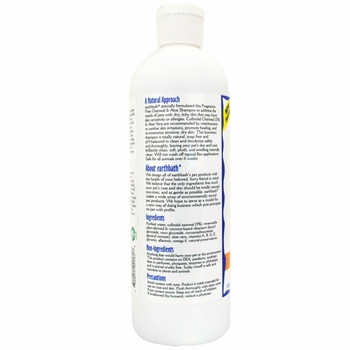 Earthbath Oatmeal & Aloe Fragrance Free Shampoo (16 oz)