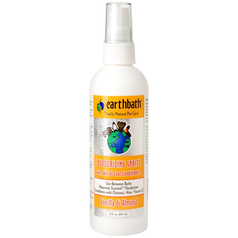 Earthbath Vanilla & Almond Deodorizing Spritz (8 fl oz)