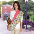East Side Collection Fruit Frenzy Reversible Sling Carrier - Pink