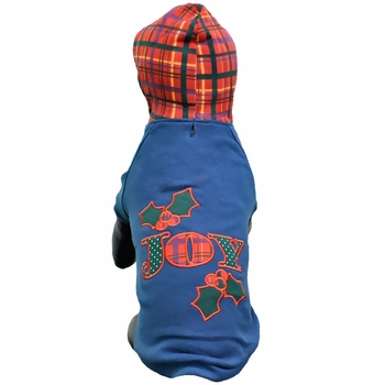 East Side Collection Holly Days Joy Hoodie - Large