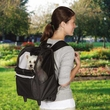 East Side Collection On The Go Rolling Backpack - Black