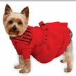 """East Side Collection Scarlet Knit Dresses Red - XS (10"""")"""