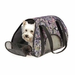 East Side Collection Stowaway Carrier - Black Paisley