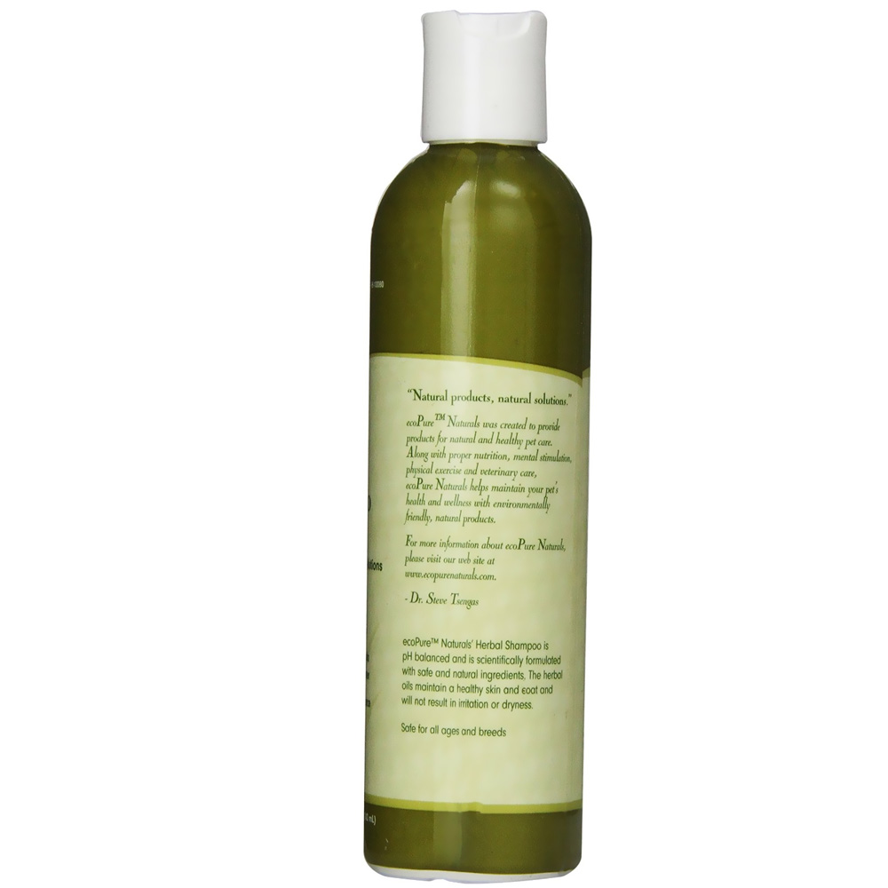 EcoPure Herbal Dog Shampoo (8 oz)