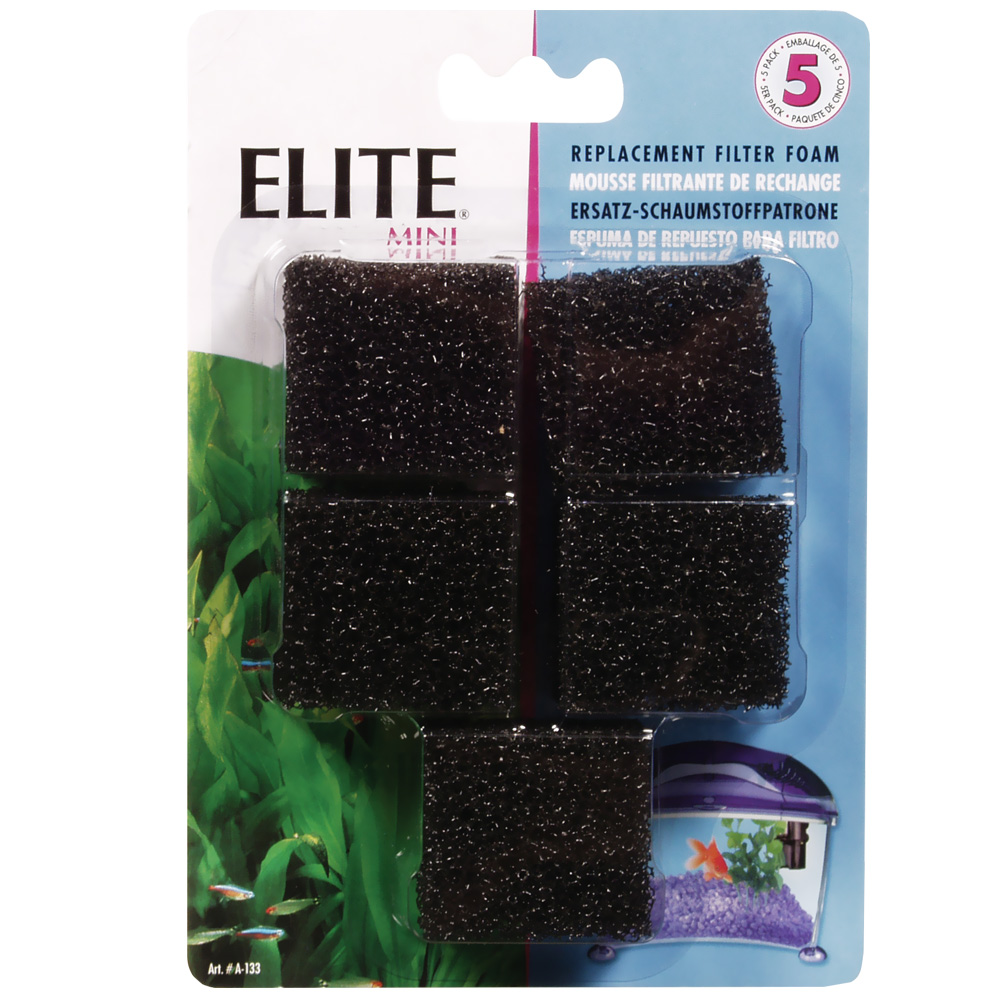 Elite Filter Cartridge for Mini Underwater Filter (5 Pack)