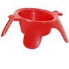 Emanuele Bianchi Yoga Bowl Red - Small