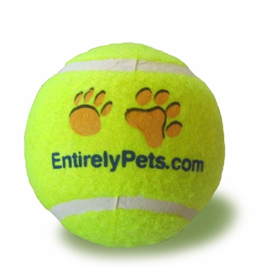 EntirelyPets Tuff Balls Tennis Ball (2.5