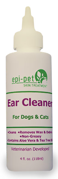 Epi-Pet Ear Cleaner for Dogs & Cats (4 fl oz)