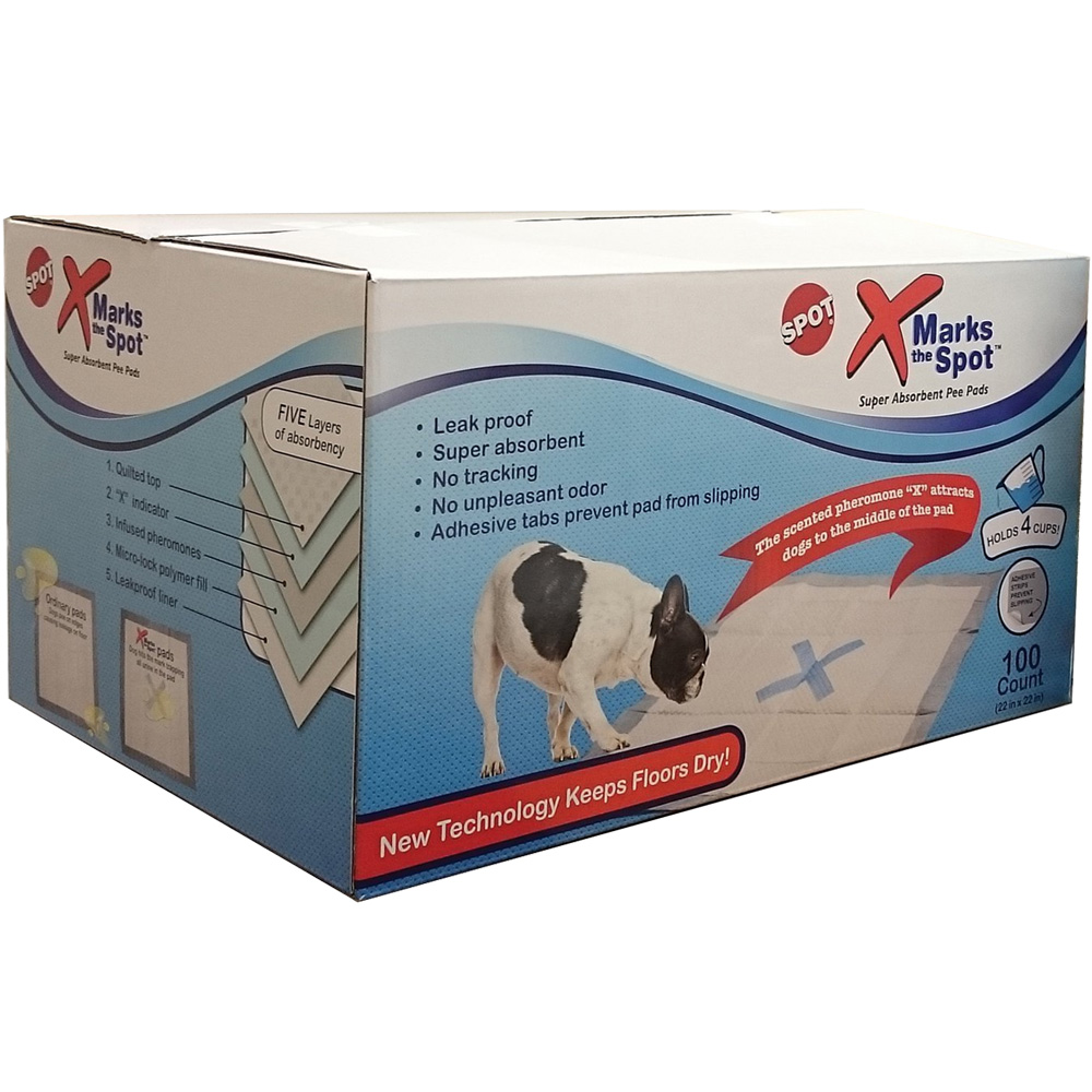 Ethical X-Marks the Spot Super Absorbent Pee Pads