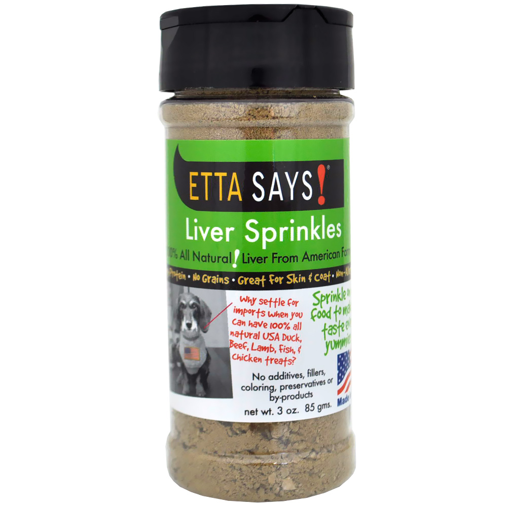 Etta Says! Liver Sprinkles (3 oz)